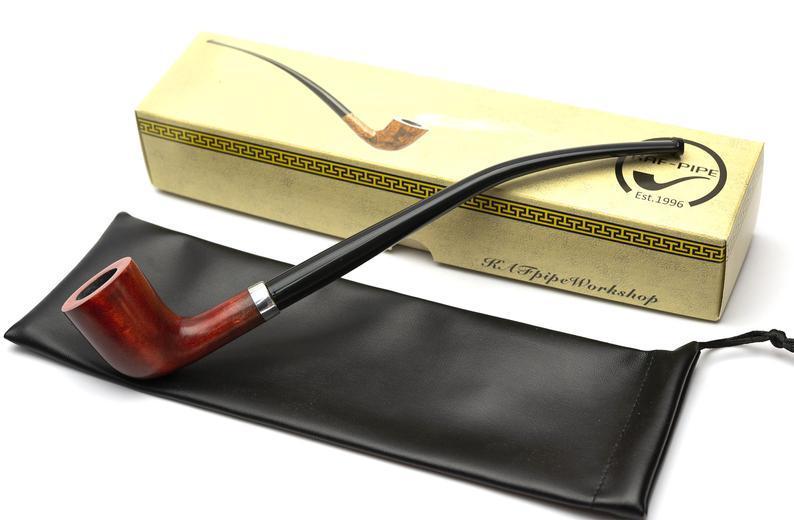 Курительная трубка с длинным мундштуком KAF235 Churchwarden прямоток