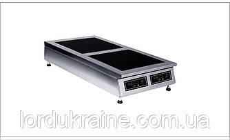 Плита индукционная настольная 2-х конфорочная Сквара Sit 2.6 (2х3 кВт)