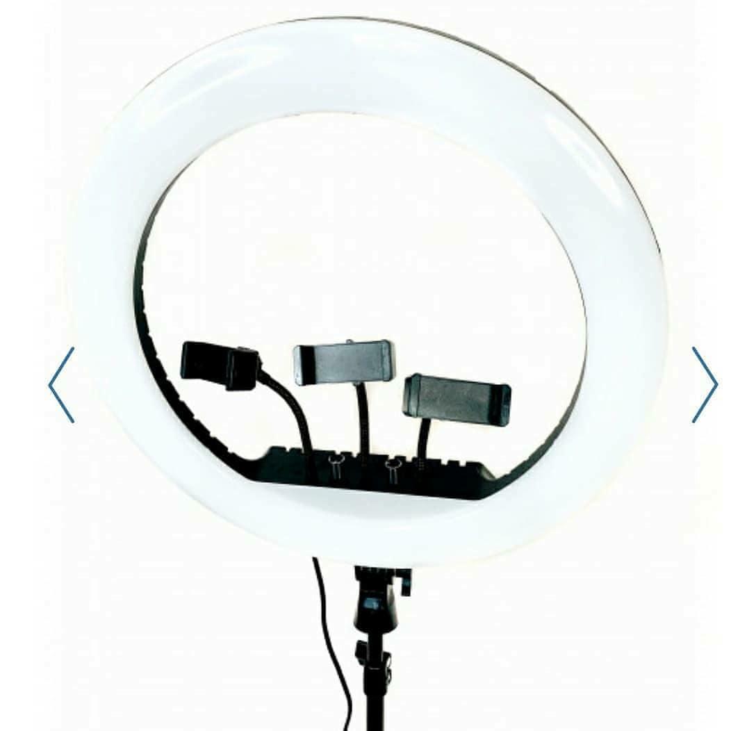 Кольцевая лампа RL-18 + пульт со штативом 210см