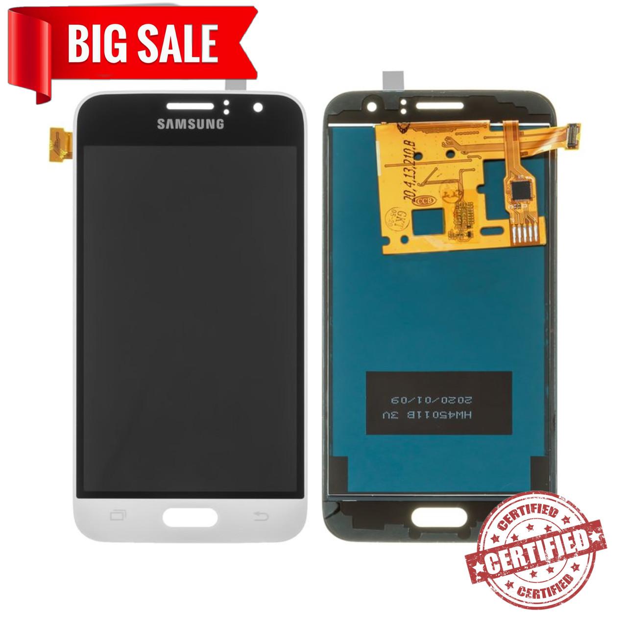 Модуль (дисплей + сенсор) для Samsung J120H Galaxy J1 (2016) TFT (не регулируется подсветка) белый