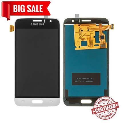 Модуль (дисплей + сенсор) для Samsung J120H Galaxy J1 (2016) TFT (не регулируется подсветка) белый, фото 2