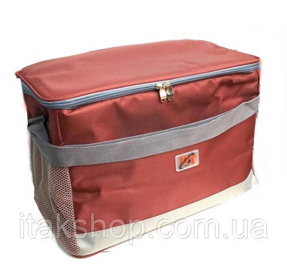 Сумка холодильник DT-4246 (40*23*27 см) Термосумка Красная