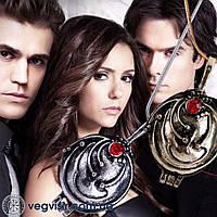 Кулон Медальон Елены Гилберт  подвеска из Дневники Вампира Vampire Diaries