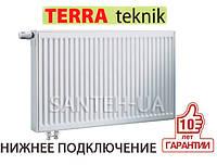 Радиатор стальной  500х1500 тип 22 TERRA teknik нижнее подключение