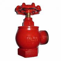 Клапан пожарный с муфтой и цапкой сальниковый