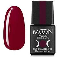Гель-лак MOON FULL №141 глубокий красно-пурпурный