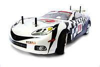 Машинка на радиоуправлении шоссейная  Himoto NASCADA Brushed белый (машинки на пульте управления)
