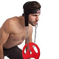 Упряжь для тренировки мышц шеи KING W0919 (нейлон, металл)