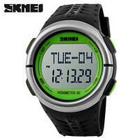 Годинник спортивні бігові з пульсометром Скмей 1058