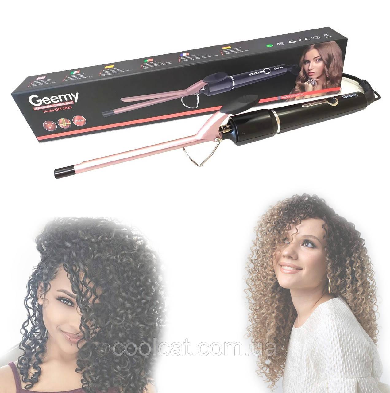 Плойка для накрутки афро-кудрей, локонов Gemei GM-2825 / Щипцы для завивки волос / Африканские кудри