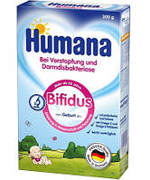 Молочная смесь Humana Bifidus с пребиотиком и лактулозой, 300 г
