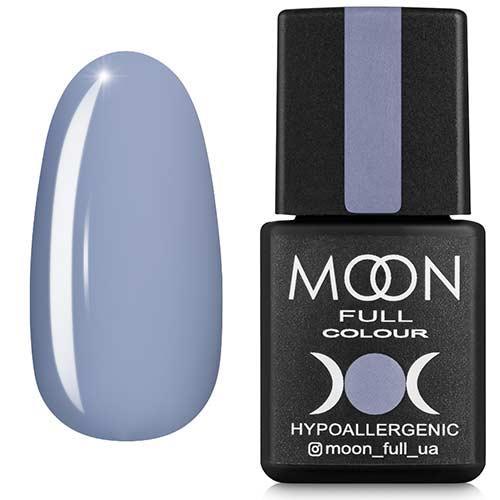 Гель-лак MOON FULL №149 серо-голубой с лиловым оттенком