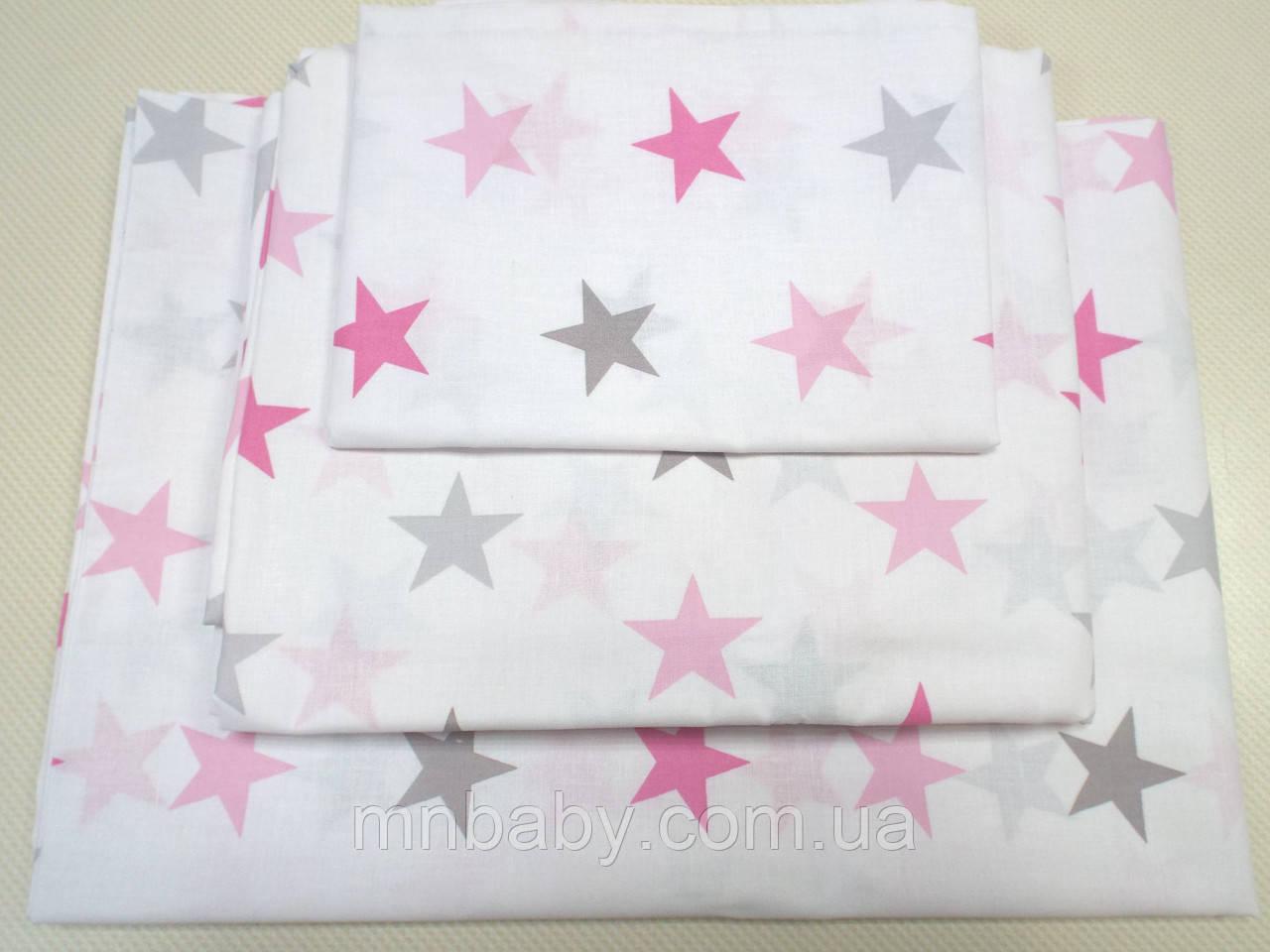 Комплект в детскую кроватку Звезды