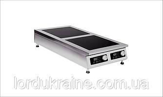 Плита индукционная настольная 2-х конфорочная Сквара Sit 2.10 (2х5 кВт)
