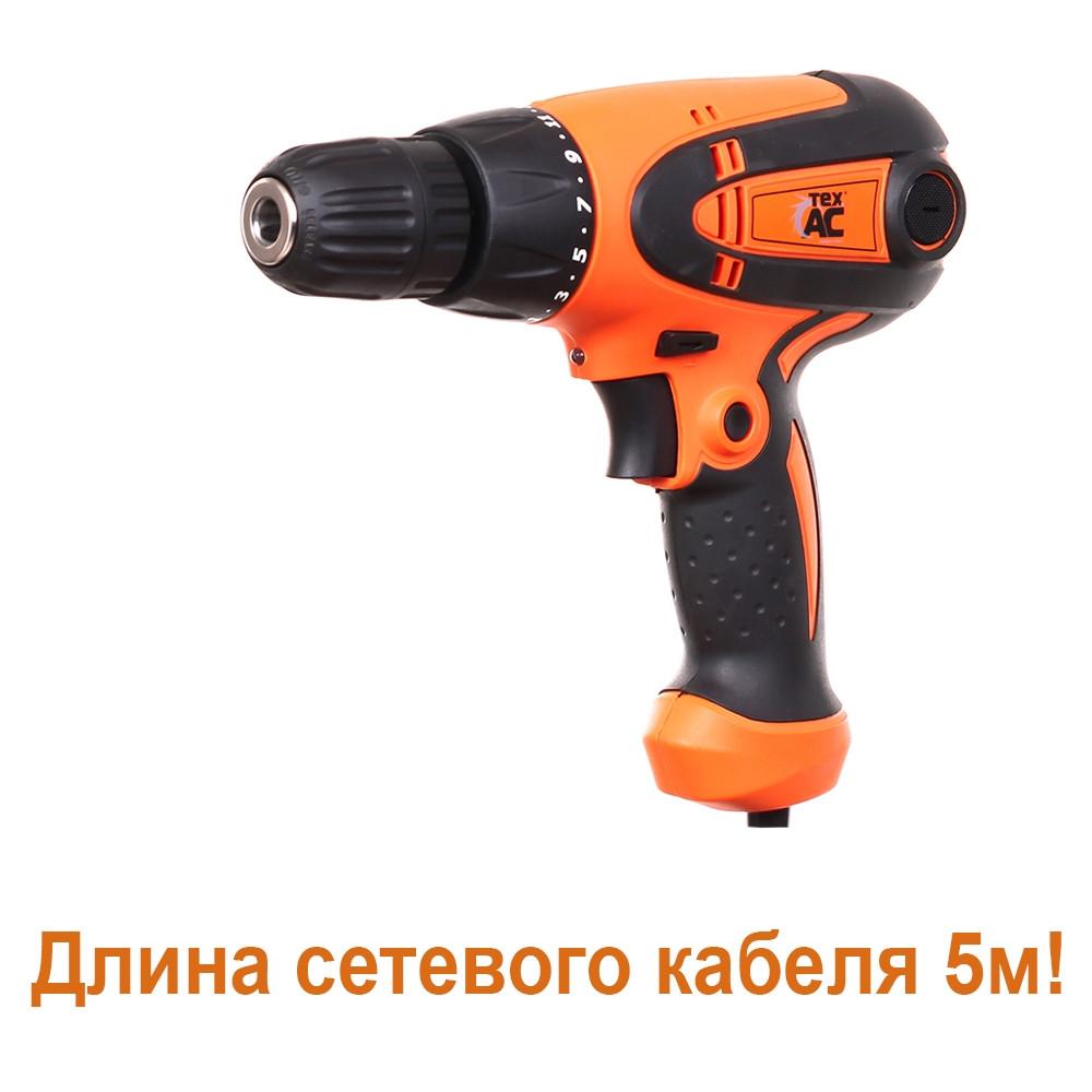 Шуруповерт 550Вт Tex.AC ТА-01-108