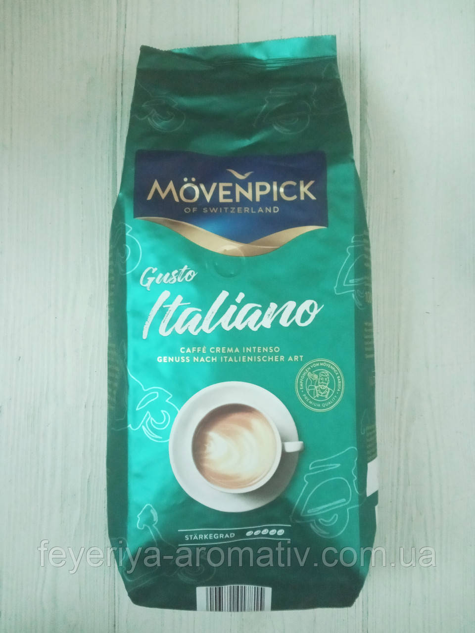 Кофе в зернах Movenpick Caffe Crema Gusto Italiano Intenso 1кг. (Германия)