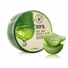 Увлажняющий и успокаивающий гель с алоэ 99% The Saem Jeju Fresh Aloe Soothing Gel 99%