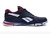 Мужские кожаные кроссовки Reebok Street Style blue синие