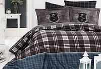 Комплект постельного белья турция First Choice. Satin Кофе-Евро 7471, фото 1