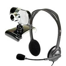 Веб-камери, навушники, мікрофони, гарнітури