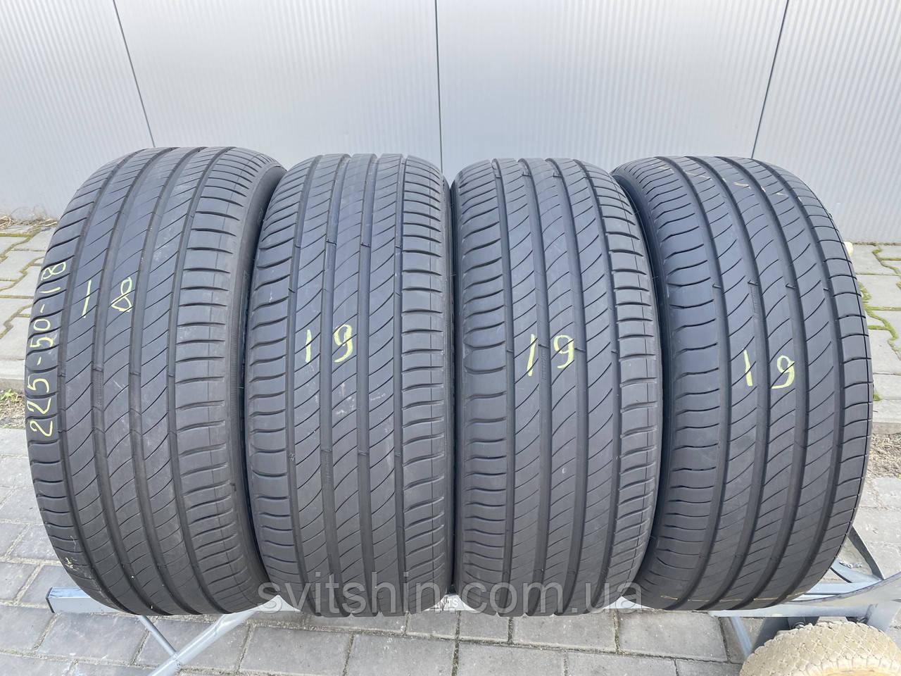 Шини літо 225/50R18 99W Michelin Primacy 4 (6,5мм)