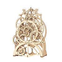 """Дерев'яний конструктор ROKR LK501 """"Годинниковий механізм"""" 3D пазл, фото 1"""