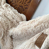 Покривало травичка | Пухнастий махровий плед. Koloco (колоко)- з довгим ворсом. 160х210 див. Колір Фуксія., фото 2