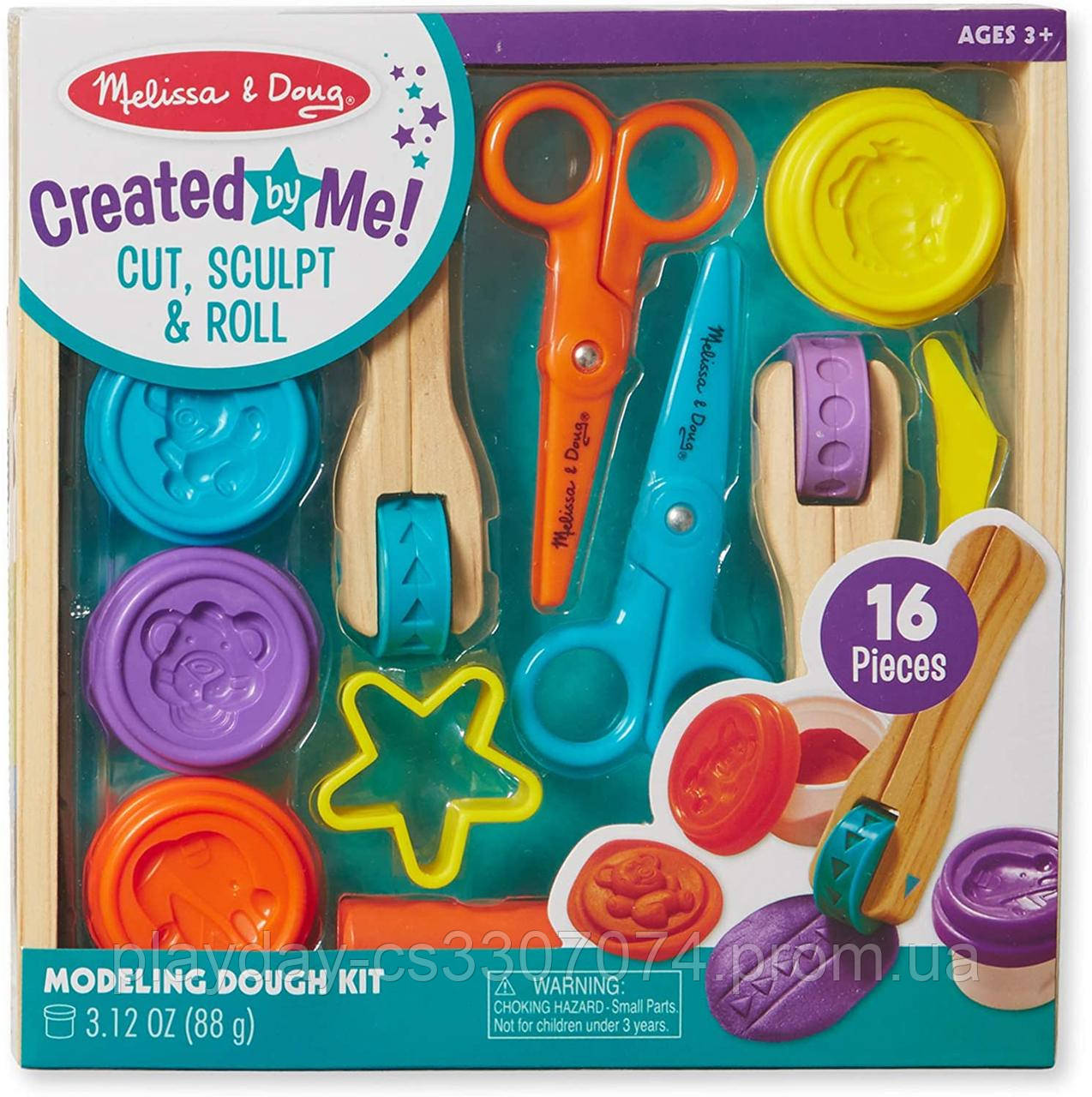Набор для лепки пластилином Melissa and Dough