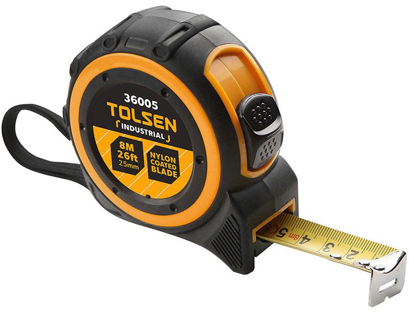 Tolsen Tools Рулетка ПРОФІ 8 м