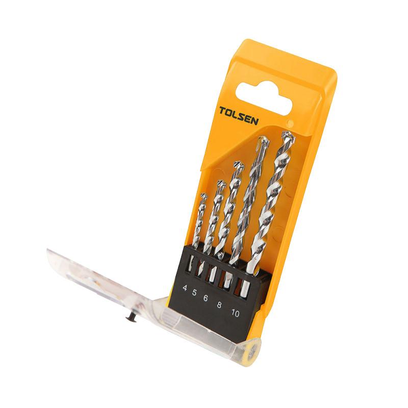 Tolsen Tools Комплект свердел по цеглі 5 шт