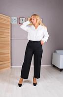 """Женские укороченные брюки с карманами """"Барселона"""" размеры от 44 до 54"""