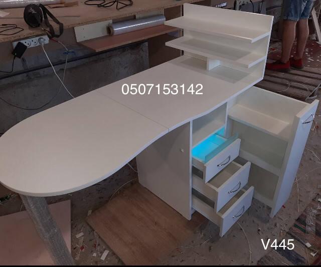 первое знакомство с готовым столом и первое впечатление Виталия от покупки Маникюрный стол с УФ лампой Модель V445