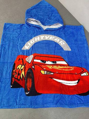Пляжное полотенце пончо детское Маквин, фото 2