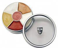 Жирный грим Криолан  (Kryolan cream color circle interferenz) Classic  , 6 цветов (перламутровые)