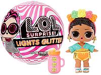 Кукла ЛОЛ Сюрприз Мерцающий сюрприз Светится в темноте - LOL Surprise Lights Glitter 564829