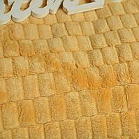 Плед - покривало жовтий Євро розмір (200*220см)