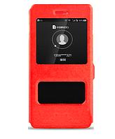 Чехол-книжка Momax для Huawei P9 lite красный (хуавей п9 лайт)