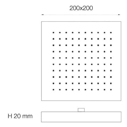 Bianchi SOFQUA180000#CRM (SOFQUA 180000 CRM) душ.набор (лейка встраиваемая), фото 2