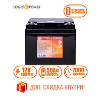 Аккумулятор для ИБП Фосфатный LP LiFePo-4 12 V - 50 Ah (BMS 50A)в пластиковом корпусе