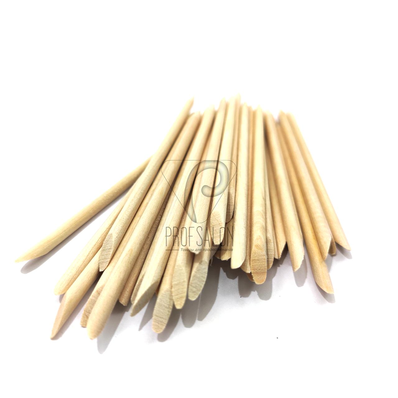 Апельсиновые палочки для маникюра и педикюра 11 см (50шт./уп)