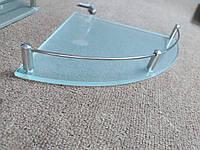 Стеклянные полки с бортиком, фото 1