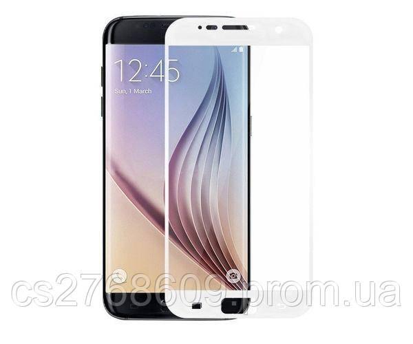 Защитное стекло захисне скло Samsung S7, G930 білий