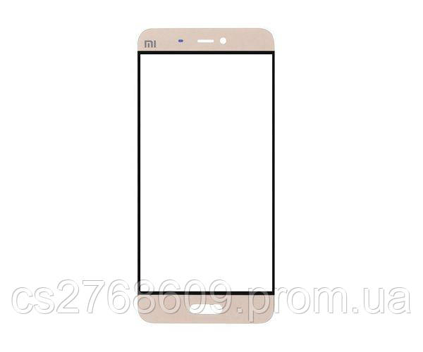 Защитное стекло захисне скло Xiaomi Mi5 золотий