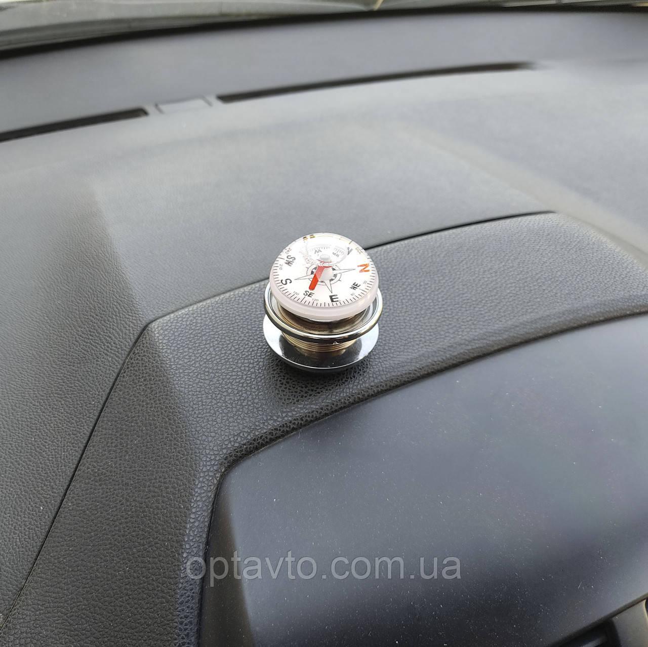 Компас - держатель для визиток, чеков и т.п. в автомобиль.