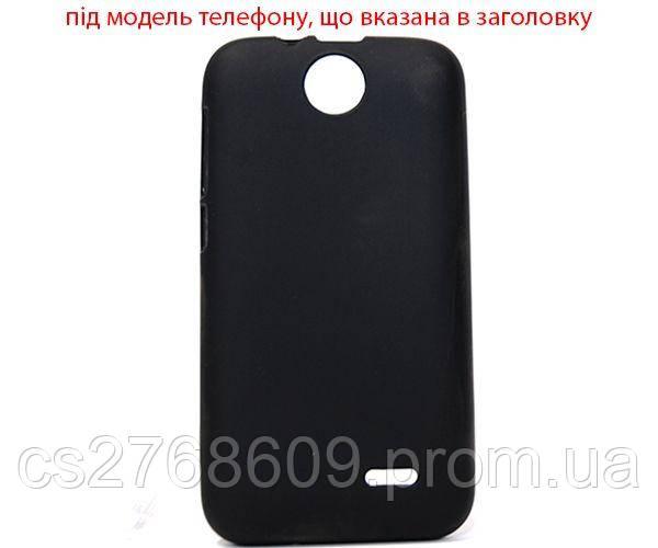 """Чехол силікон """"S"""" HTC Desire 700 чорний"""