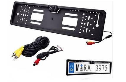 Рамка номера с камерой заднего вида HD-105, фото 2