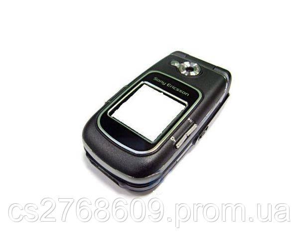 """Корпус """"А-клас"""" Sony-Ericsson Z710 black накладки"""