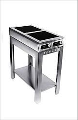 Плита індукційна підлогова 2-х конфорочна Сквара Sit 2.10 (2х5 кВт)
