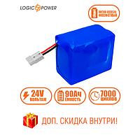 Аккумулятор для ИБП фосфатный LP LiFePo-4 24 V - 90 Ah (BMS 80A)