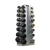 Подставка (горка) для гантелей (10 пар) Zelart TA-0916 (металл, р-р 54х54х121см) TA-1296